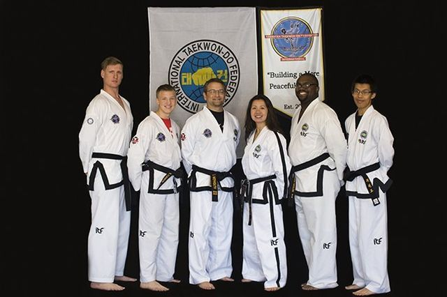 Tanny Academy of Martial Arts Black Belt Instructors