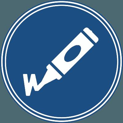 Design-Symbol in Bozen