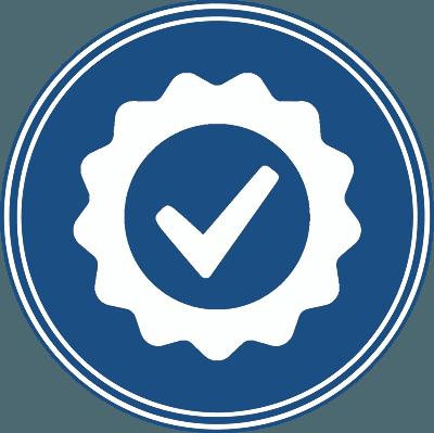 Qualitätssymbol in Bozen