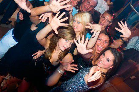 girls having fun at a party