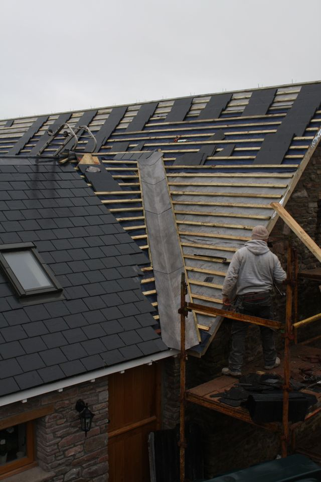 new roofing installation