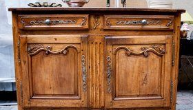 carved antique sideboard