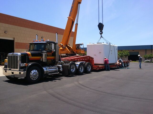 Crane hauling services in Honolulu, HI