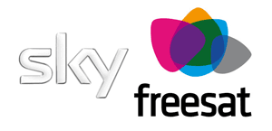 sky and freesat logos