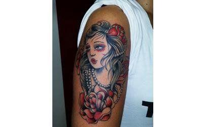 tatuaggio donna giapponese