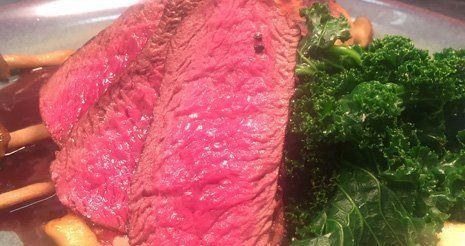 Medium steak at Plough and Harrow