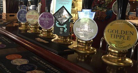 Multiple ales at Plough and Harrow