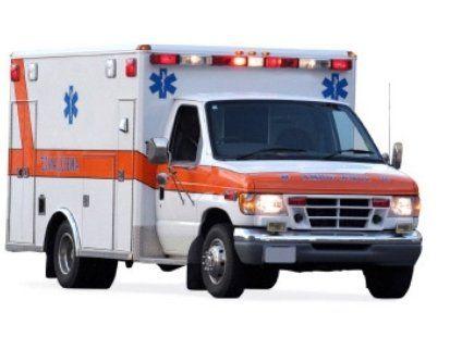 ambulance ready for traumatic episode