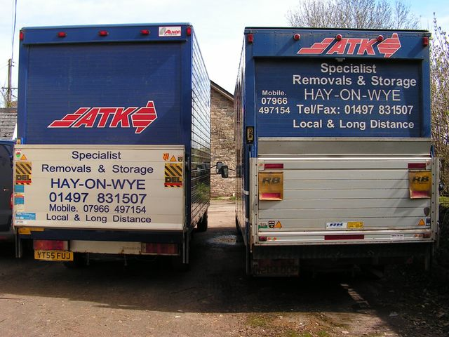 Local and long-distance removals - Ross on Wye, Herefordshire - ATK Specialist Removals & Storage - Removals