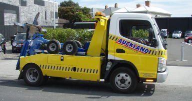 Car towing auckland