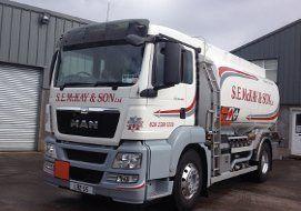 gas oil truck