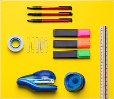 matite, gomma, cartoleria