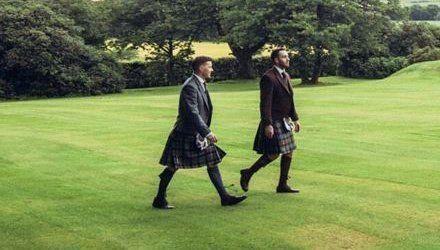 Highland dresses
