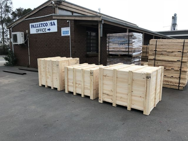 Customised Timber Pallets in Adelaide | Palletco SA