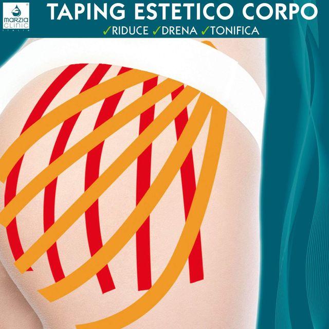 trattamento corpo taping estetico