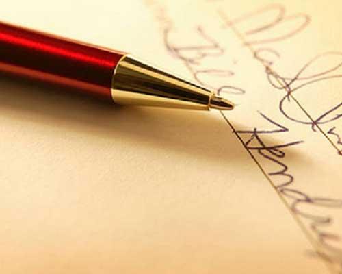Penna e firma