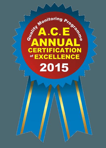ACE ANNUAL AWARD Logo
