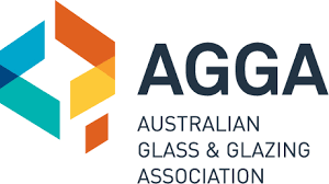 australian glass and glazing association logo