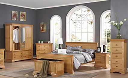 Oak Pine Bedroom Furniture From Manufacturers In Maldon