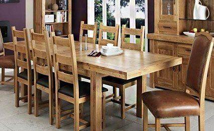 Oak Pine Dining Room Furniture In Maldon