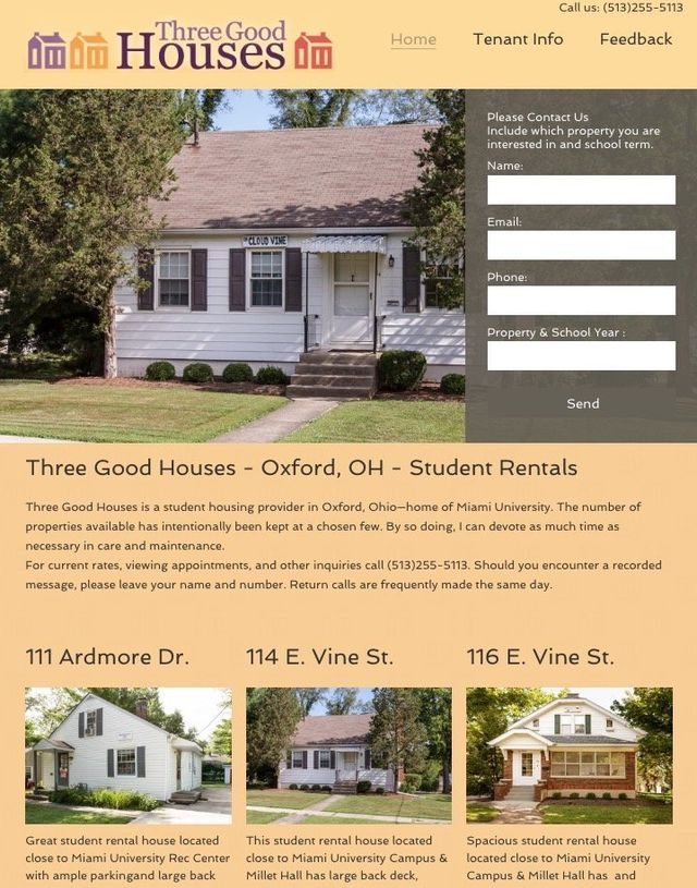 oxford ohio website design company
