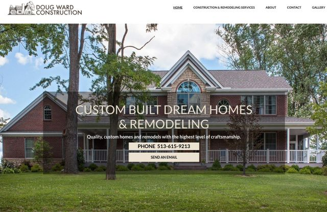 oxford website design for home builder