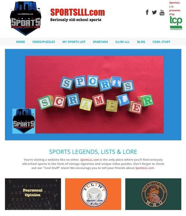 sports websites designed