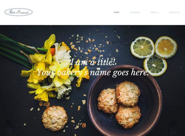 Bakery Website Design Themes by Search Marketing Specialists