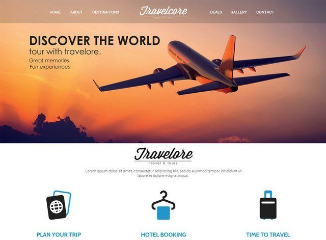 Corporate Theme 2 Website Design Themes by Search Marketing Specialists