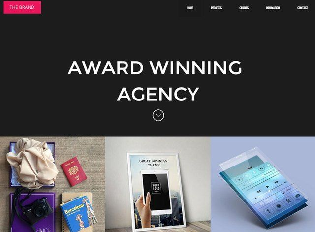 Corporate Theme 4 Website Design Themes by Search Marketing Specialists