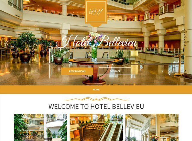 Hotel Theme 1 Website Design Themes by Search Marketing Specialists