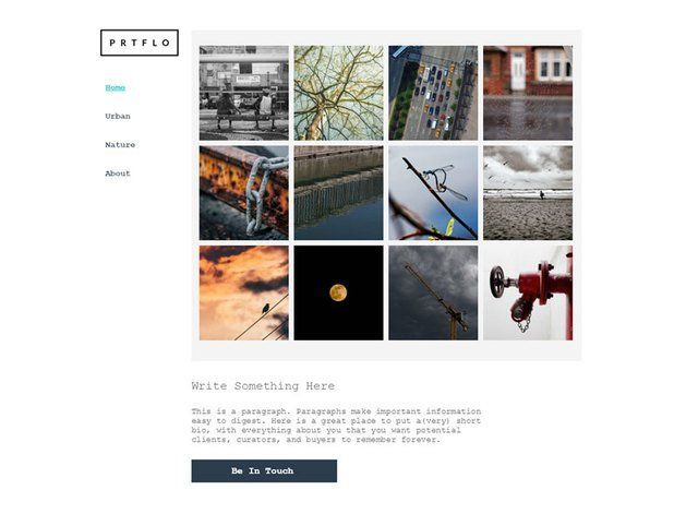 Portfolio Website Design Themes by Search Marketing Specialists