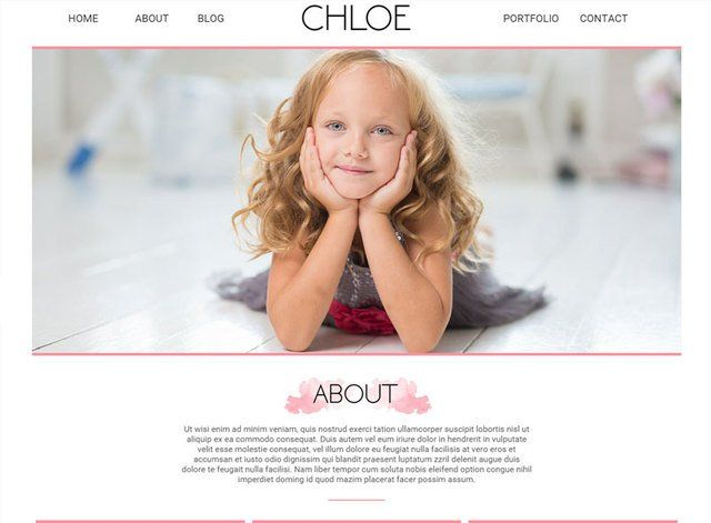 Porfolio Theme 2 Website Design Themes by Search Marketing Specialists