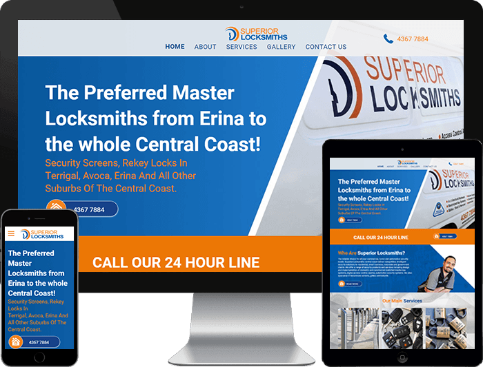Professional and Cost Effective Website Design Superior LockSmiths