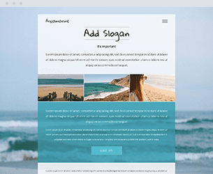 Aquamarine Website Design Themes by Search Marketing Specialists