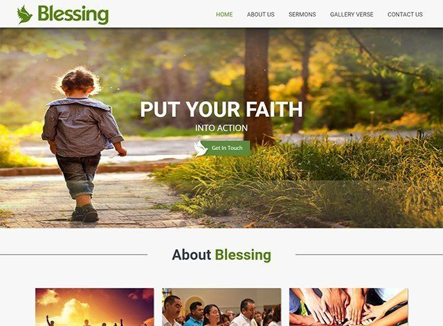 Church Website Design Themes by Search Marketing Specialists