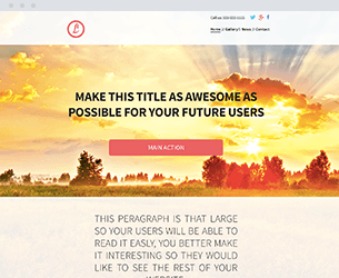 Breakfast Website Design Themes by Search Marketing Specialists