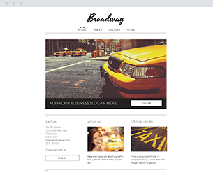 Broadway Website Design Themes by Search Marketing Specialists