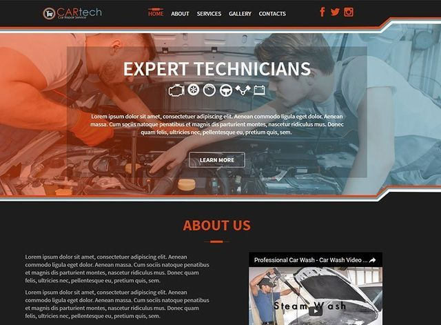Automotive Website Design Themes by Search Marketing Specialists