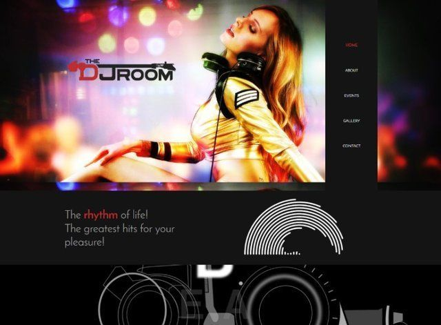 Dj Website Design Themes by Search Marketing Specialists
