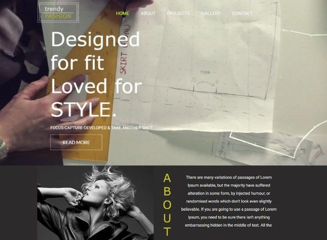 Fashion Website Design Themes by Search Marketing Specialists