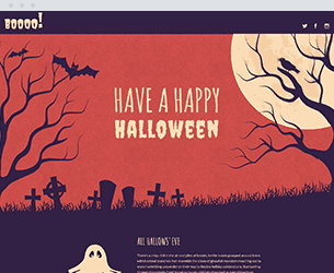 Halloween Website Design Themes by Search Marketing Specialists