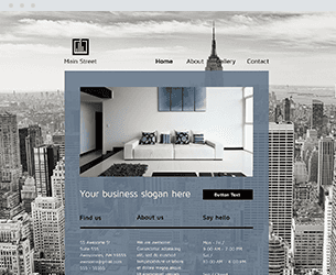 Main Street Website Design Themes by Search Marketing Specialists