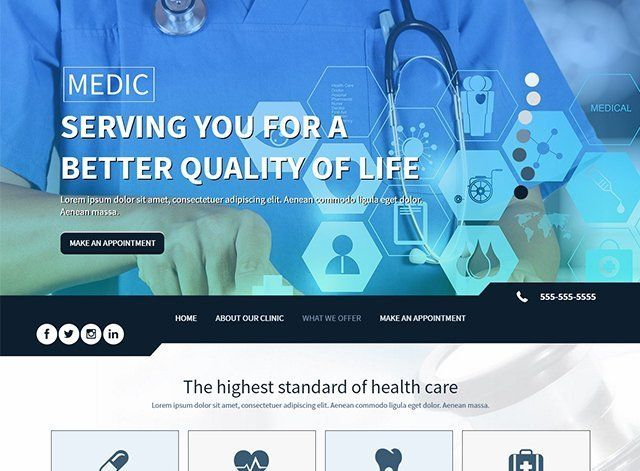 Health Website Design Themes by Search Marketing Specialists