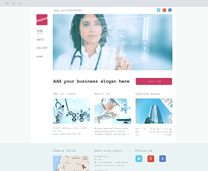 Medical Website Design Themes by Search Marketing Specialists