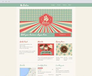 Midnight Snacks Website Design Themes by Search Marketing Specialists
