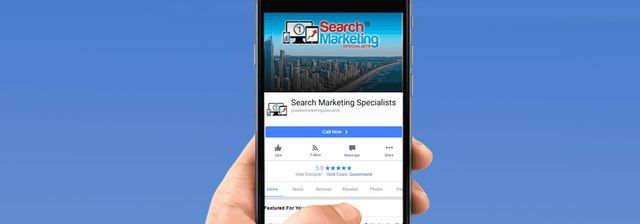 Search Marketing Specialists facebook advertising Mobile