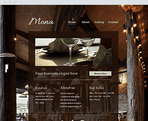 Mona Website Design Themes by Search Marketing Specialists