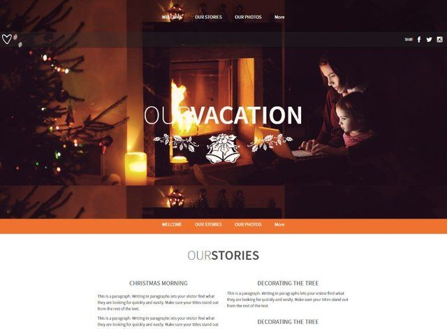Vacation Website Design Themes by Search Marketing Specialists