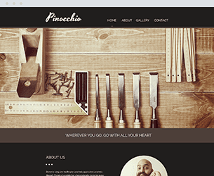 Pinocchio Website Design Themes by Search Marketing Specialists